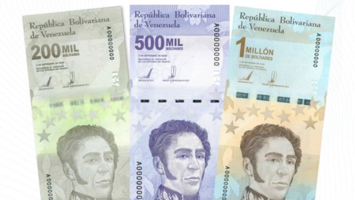 El billete de un millón de bolívares apenas alcanza para comprar pan