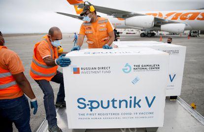 Llegó otro lote de Sputnik V a Venezuela