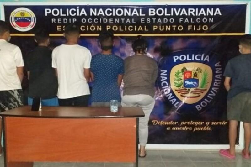 """Detuvieron a miembros de una banda que estafaba en Falcón bajo la modalidad de """"Hola, soy María"""""""