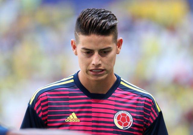 James Rodríguez, decepcionado por no haber sido convocado por Colombia