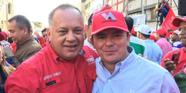 """Diosdado expresó """"vergüenza"""" por el expresidente de Lácteos Los Andes"""