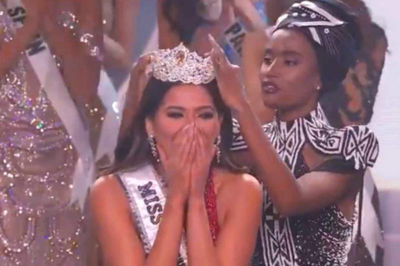 La mexicana Andrea Meza se coronó como Miss Universo 2020 (Videos)