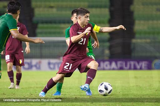Hijo de Rafael Lacava jugará con la vinotinto en las eliminatorias de Qatar 2022
