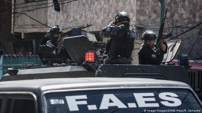 La trifulca que se armó entre funcionarios de PoliSucre y de la FAES en Petare (Video)