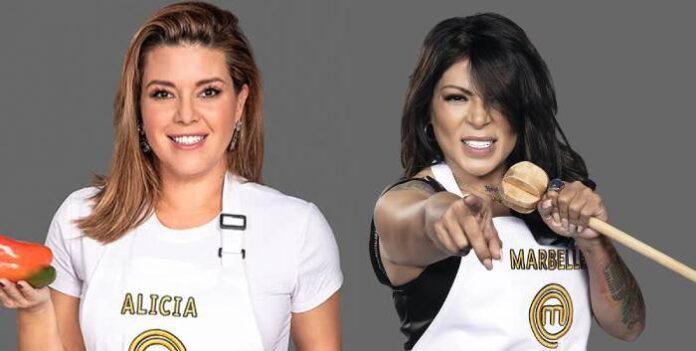 Alicia Machado demandará a Marbelle, su excompañera de ''MasterChef'' por esta razón