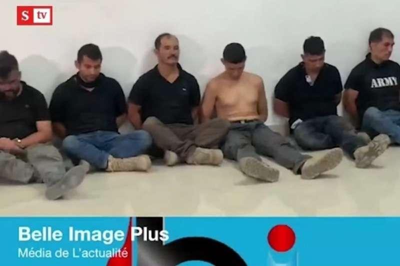 Así mostraron a los colombianos capturados en Haití y acusados del sangriento magnicidio contra el presidente, Jovenel Moïse (Video)