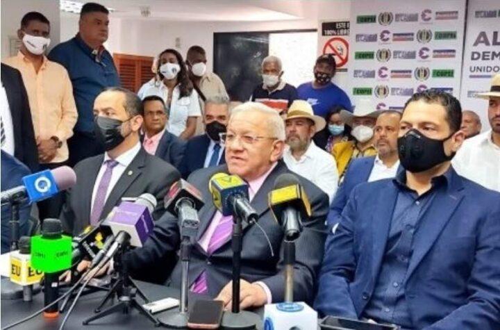 Difunden lista de los candidatos de la «Alianza Democrática» para las megaelecciones del 21Nov (Video)