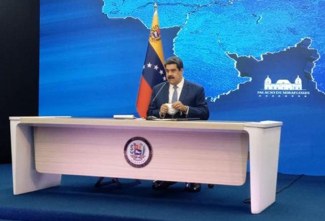 Maduro reiteró el regreso a clases presenciales en octubre