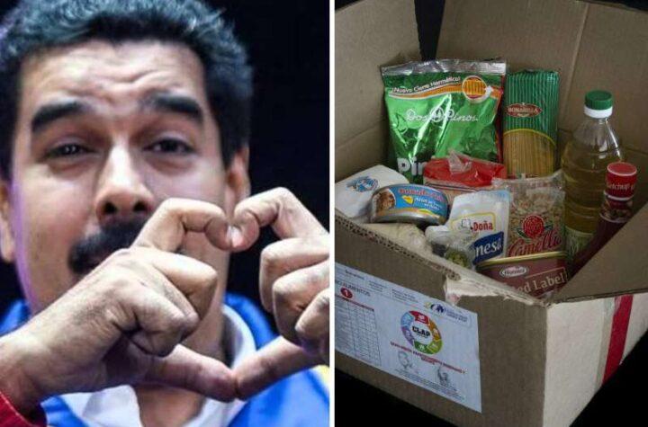 Maduro reconoció que a sus cajas CLAP le hacen falta productos de mejor calidad y ordenó agregar diablitos, leche y café