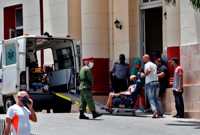 La pandemia del Covid-19 asfixia la salud en Cuba