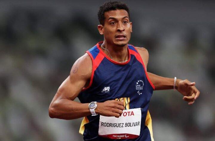 El atleta venezolano Luis Rodríguez logró medalla de plata en los Juegos Paralímpicos de Tokio