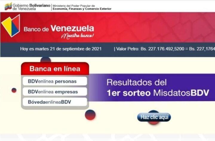 """El Banco de Venezuela informa que logró restaurar su plataforma tras supuesto """"ataque cibernético"""""""