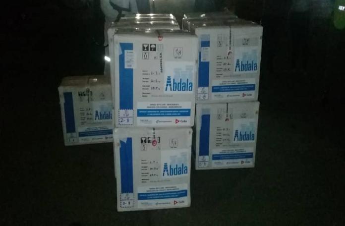 Llega a Venezuela cargamento con la vacuna cubana Abdala