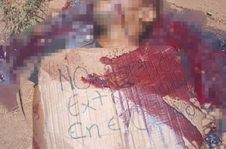 """""""Por extorsionar"""" asesinan a sujeto en El Callao"""