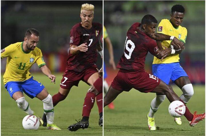 Brasil venció a la Vinotinto 3-1 y mantiene su camino en la clasificatoria para el Mundial de Catar 2022